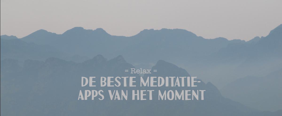 de beste meditatie apps van het moment