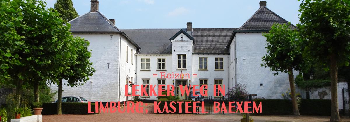 Lekker weg in eigen land. Kasteel Baexem in Baexem is een onontdekte plek in Noord-Limburg.