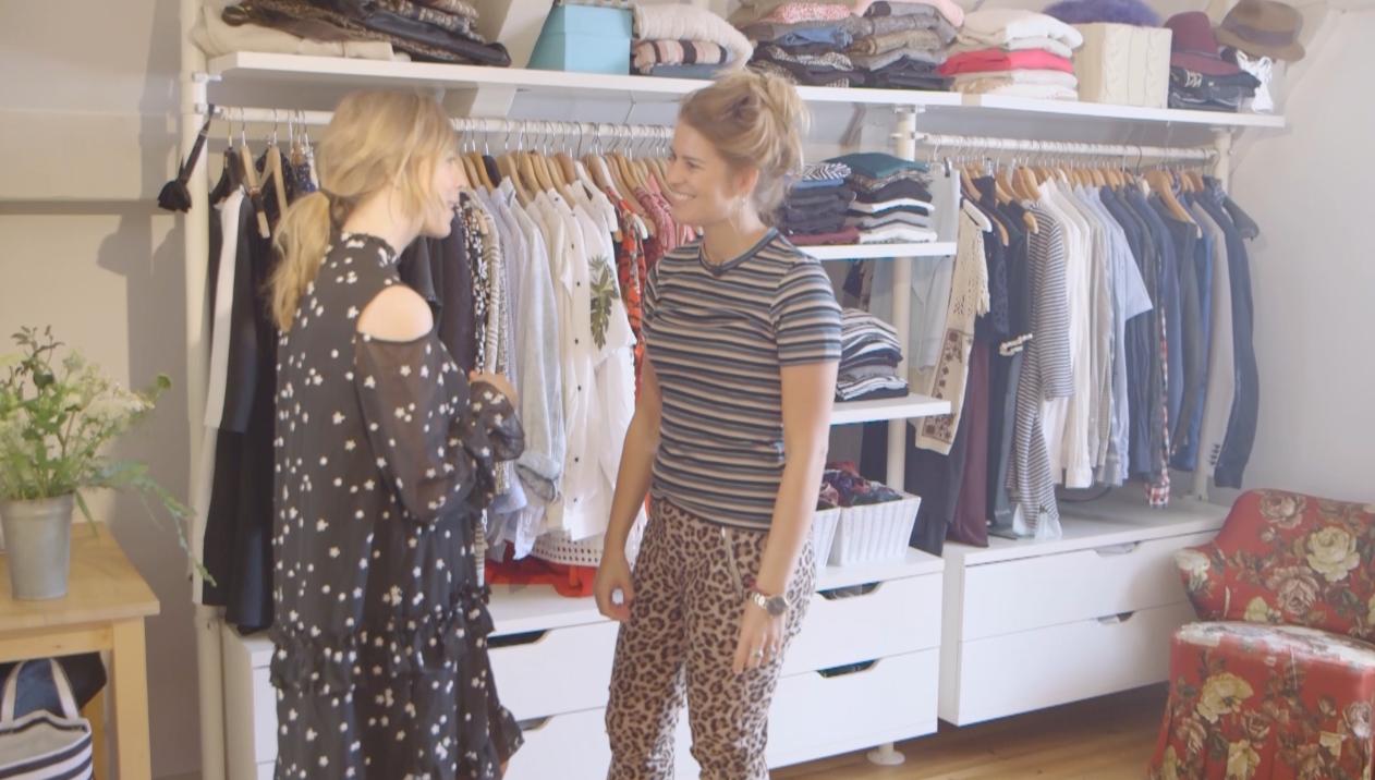 Een kijkje in de kledingkast van Emilie Sobels