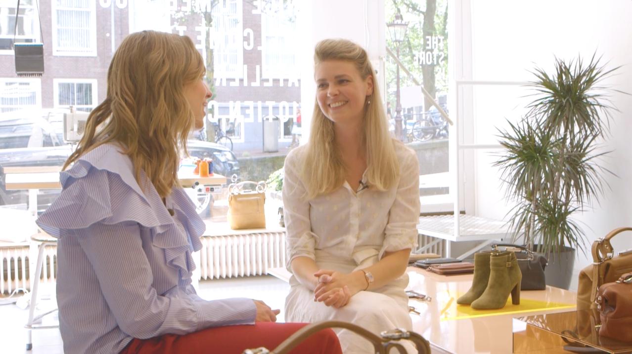 Ciska ging op bezoek bij tassenontwerpster Martina Braas