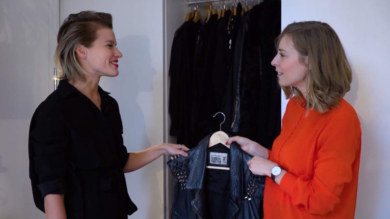 Ciska nam een kijkje in de kledingkast van Sella Molenaar