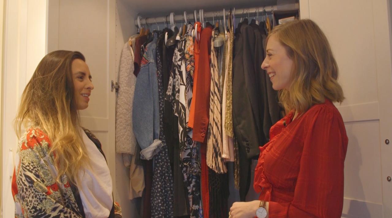 Ciska nam een kijkje in de kledingkast van Milou Turpijn