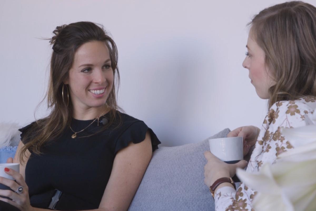 Op de bank bij Mariëtte Ruggenberg sprak Ciska haar over haar visie voor het onderwijs