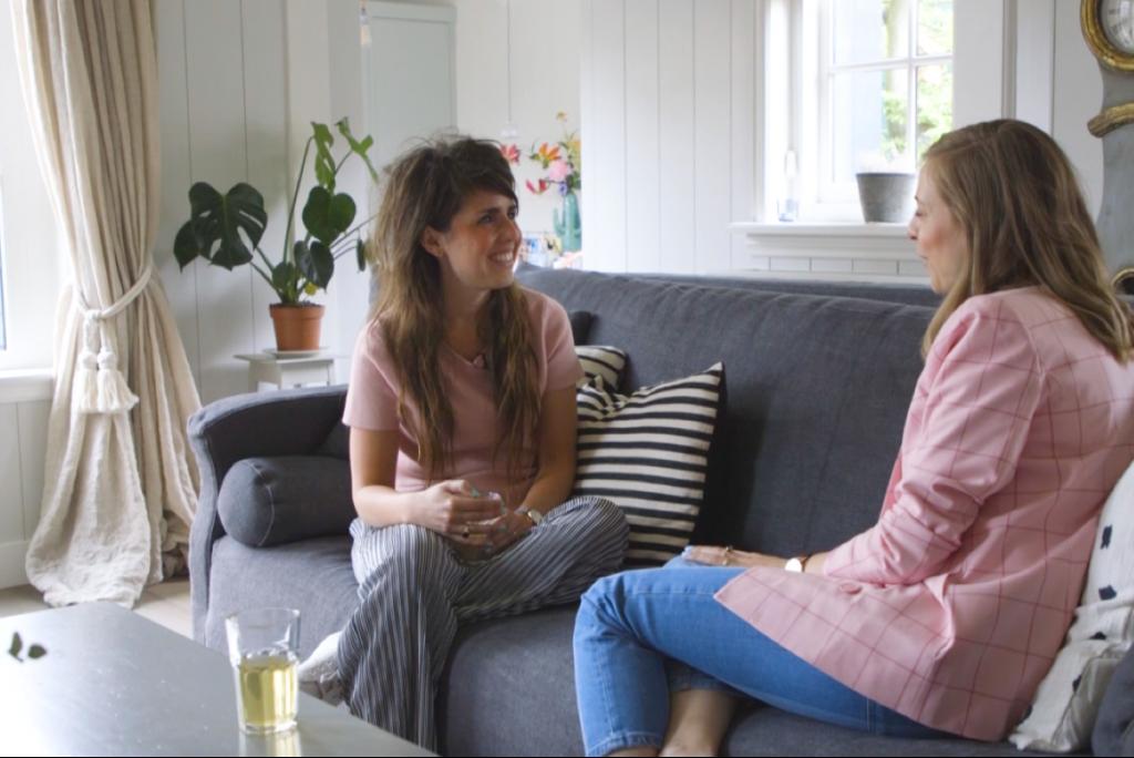 Ciska gaat in gesprek met Nadine Walter, grafisch vormgever